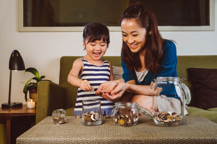 Do you want to know how much your child has saved?